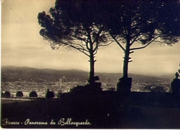 Firenze - Panorama Da Bellosguardo - Formato Grande Viaggiata Mancante Di Affrancatura – E 12 - Firenze