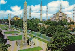 Cp , TURQUIE , ISTANBUL , Hipodromus And The Blue Mosque - Türkei