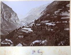 Sainte-Foy + Le Doron à Beaufort. Circa 1900. - Fotos