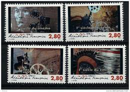 "FR YT 2919 à 2922 "" 1er Siècle Du Cinéma "" 1995 Neuf** - France"