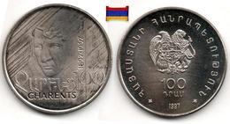 Arménie - 100 Dram 1997 (UNC - Charents Poet) - Armenia