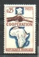 "France 1964 Y&T** N° 1432 "" Coopération Avec L'Afrique Et Madagascar "" - Ongebruikt"