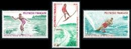 POLYNESIE 1971 - Yv. 86 87 88 ** TB  Cote= 40,00 EUR - Ski Nautique (3 Val.)  ..Réf.POL23829 - Unused Stamps