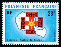 POLYNESIE 1971 - Yv. 91 *   Cote= 16,30 EUR - Scouts Et Guides De France  ..Réf.POL23834 - Neufs