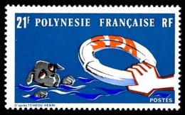 POLYNESIE 1974 - Yv. 96 ** TB  Cote= 14,20 EUR - S.P.A. (Soc. Protectrice Des Animaux)  ..Réf.POL23840 - Polynésie Française