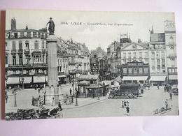 CPA 59 LILLE GRAND' PLACE RUE ESQUERMOISE - Lille