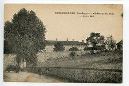 Busserolles Château Du Jonc (rare) - Autres Communes