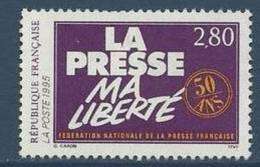 """FR YT 2917 """" Fédération De La Presse """" 1994 Neuf** - France"""