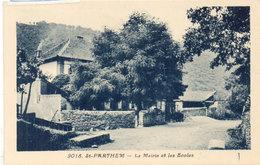 SAINT PARTHEM - La Mairie Et Les Ecoles  (113015) - Other Municipalities