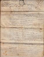 FRANCE -  1789 -  Contrat De Mariage - Alte Papiere