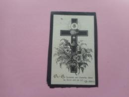 D.P.-AMELIE-S.DEVRIERE °OOSTVLETEREN 9-12-1803+RISQUONS 28-Xbre-1879 - Godsdienst & Esoterisme