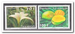 Polynesië 2010, Postfris MNH, Flowers, Fruit - Ongebruikt