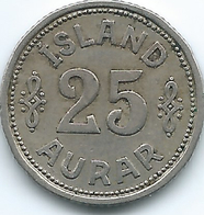 Iceland - Christian X - 25 Aurar - 1940 (KM2.2) - Islandia
