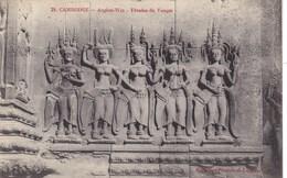 Asie - Cambodge - Angkor Wat - Tévadas Du Temple - Cambodge