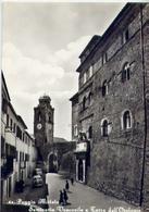 Poggio Mirteto - Seminario Vescovile E Torre Dell'orologio - Formato Grande Non Viaggiata – E 12 - Rieti