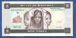 Erythrée-  1 Nafka 24/5/1997   - Pick # 1  - état SUP - Erythrée