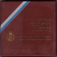 San Marino 1975 Fdc  Divisionale Ufficiale - San Marino