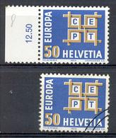 LIQUIDATION TOTALE : 1963 - EUROPA - Zu 401 - Mi N° 781 - Yv N° 716 - ** (MNH) Et Oblitérés (o) - Suisse