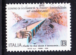 2018  CENTRO SOLIDARIETA' IL PONTE USATO - 6. 1946-.. Repubblica