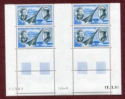 COIN DATE Du 13-3-80  : Type PA 44  JEAN MERMOZ - 1960-.... Ungebraucht