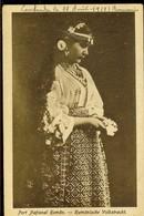 Postcard, Romania, Romanian National Costume, Used 1919,  Publ. I. Saraga & S. Schwartz, Bucuresti - Roumanie