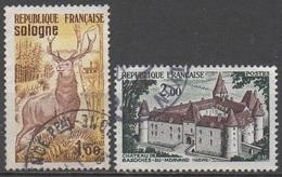 FRANCE  1972   __N°  1725/1726__OBL  VOIR SCAN - France