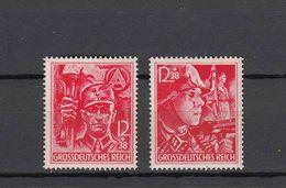 Deutsches Reich, SS, SA, Mi.909-910, **MNH, 1945 - Allemagne