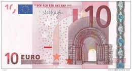 EURO GERMANY 10 X P017 UNC DRAGHI - EURO