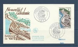 Nouvelle Caledonie 1959  Fdc PA 70 Barrage De Yaté - Theme Energie Eau - FDC