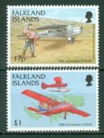 Falkland Is: 1998   50th Anniv Of Falkland Islands Government Air Service    MNH - Falkland Islands