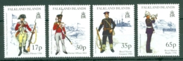 Falkland Is: 1998   Royal Marine Uniforms    MNH - Falkland Islands