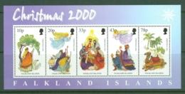 Falkland Is: 2000   Christmas  M/S   MNH - Falkland Islands