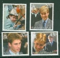 Falkland Is: 2000   Prince William's 18th Birthday    MNH - Falkland Islands