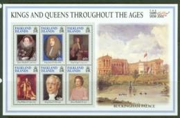 Falkland Is: 2000   Stamp Show 2000 International Stamp Exhibition    MNH Sheetlet - Falkland Islands
