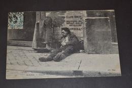 Carte Postale 1905 Rouen Couché Du Soleil Homme Epuisé - Rouen