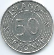 Iceland - 1968 - 50 Krónur - 50th Anniversary Of Sovereignty - KM16 - Islanda