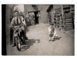 Motorfiets Voor Brouwerij (Tamines?) - Motorräder