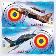Roumanie Romania 6063/65 Avion De Chasse, Missile Sol-air - Militares