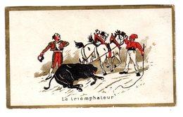 Chromo Tauromachie, Corrida, Picador, Espagne - Trade Cards