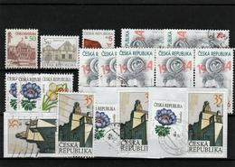 Czesh Republic - Smal Lot Of Used Stamps - Vrac (max 999 Timbres)