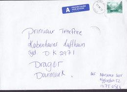 Norway A-Prioritaire Par Avion Label Deluxe BJØRNDAL 1998 Cover Brief DRAGOER Denmark Ship Schiff Bateau - Norwegen