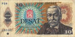 10  KORUM  CECOSLOVACCHIA  - ANNO / 1986. - Cecoslovacchia