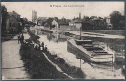 Troyes , Le Bassin Du Canal , Animée - Troyes