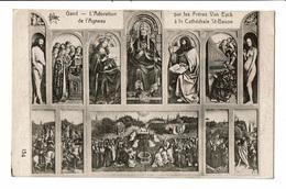 CPA - Carte Postale -Belgique- Gent - L'adoration De L'Agneau-Cathédrale St Bavon-VM2422 - Gent