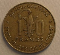 1997 - Afrique De L'Ouest - West African States - 10 FRANCS BCEAO, F.A.O., KM 10 - Other - Africa