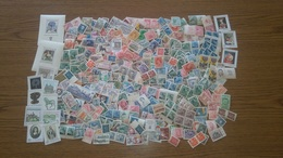 CZECHOSLOVAKIA ( 1945-92 ), LOT OF 350 UNUSED STAMPS. Condition, See The Scans. - Vrac (max 999 Timbres)