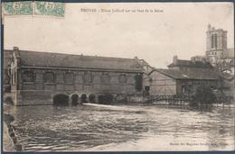 Troyes , Usine Jaillard Sur Un Bras De La Seine , Animée - Troyes