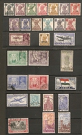 INDIA 1940 - 1951 COLLECTION OF FINE USED SETS Cat £27+ - India (...-1947)