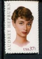 247850983 USA  POSTFRIS 2003 ** MNH SCOTT 3786 Audrey  Hepburn - United States