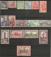 INDIA 1947 - 1952 SET SG 309/324 FINE USED Cat £50 - 1947-49 Dominion